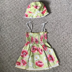4/$24 Baby Nay Spaghetti Strap Dress Set, 18 mos